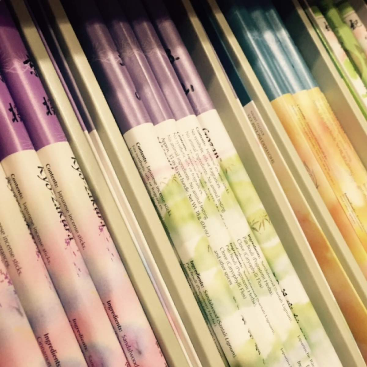 Les encens traditionnels japonais 100 naturels en plein for Mobilier japonais marseille