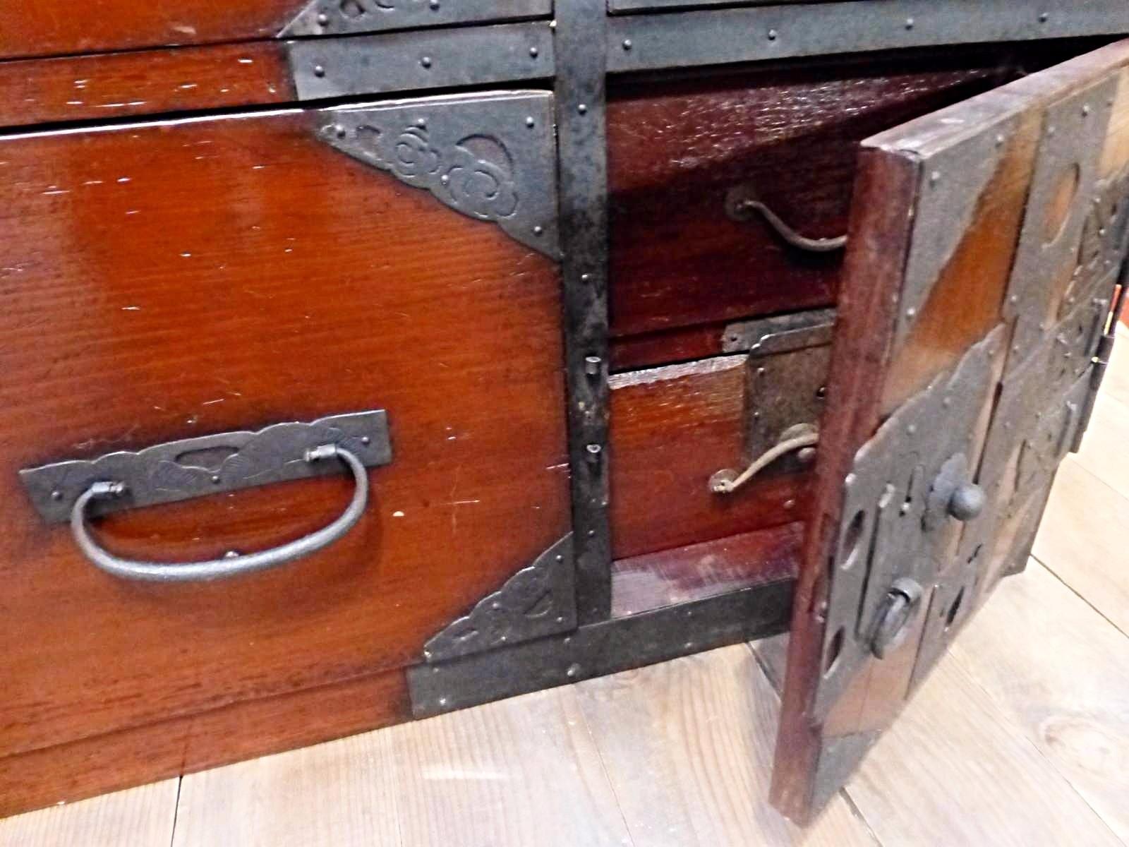 Meuble japonais ancien latest paravent miroir ancien bois for Meuble bureau japonais